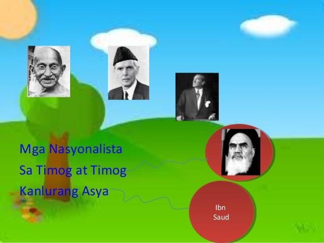 Mga Nasyonalista Sa Timog at Timog Kanlurang Asya  Ayatollah Ayatollah Rouhollah Rouhollah Mousari Mousari Khomeini Khomei...