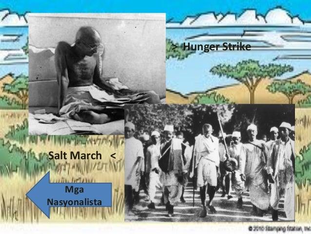 > Hunger Strike  Salt March < Mga Nasyonalista