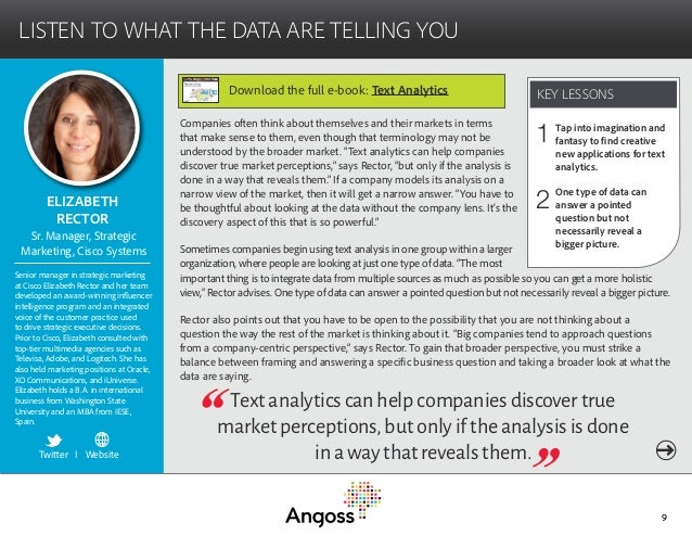 Text analytics ebook risk mitigation with text analytics 9 fandeluxe Image collections