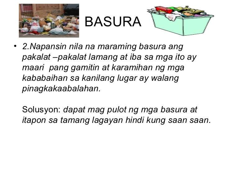 problema at solusyon Nakakita na sang solusyon sa problema sa basura ang ciudad sang iloilo ini  paagi sa pagsulod sa isa ka kasugtanan sa villar foundation.