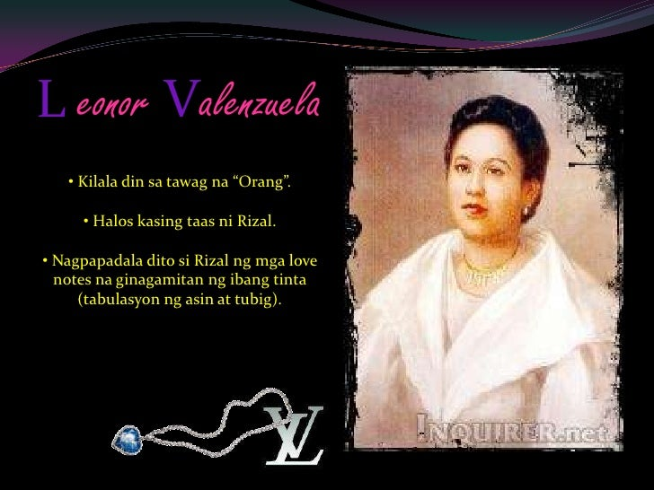 to the virgin mary by doctor jose rizal Maria rizal (1859-1945) is the sixth child in the family it was to her whom jose talked about wanting to marry josephine bracken when the majority of the rizal.