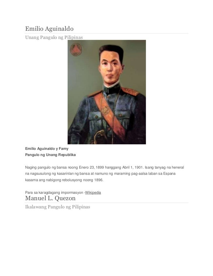 talambuhay ni dating pangulong elpidio quirino