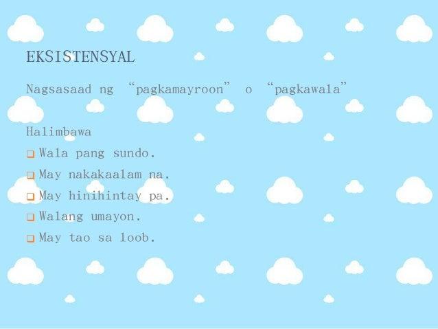 pangungusap na walang paksa Pangungusap na walang paksa 5 | by cashanino | last updated:  iiwan ka ng  mahal mong si andres(panawag) a huwag b andres c.