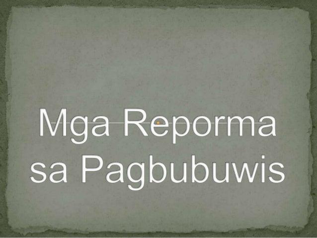  Ipinatupad sa ating bansa simula noong Enero 1, 1988  sa pamamagitan ng EO blg. 273 ni dating pangulong  Corazon C. Aqui...