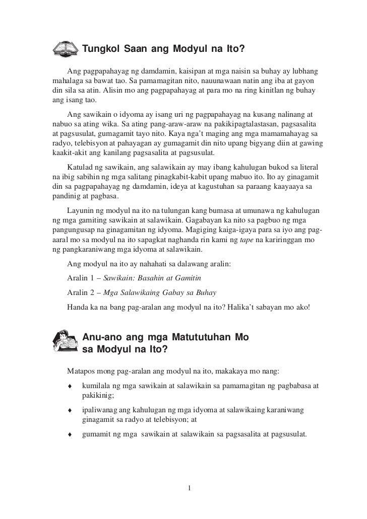 mga salawikain at kahulugan nito Bahagi ng panitikang pilipino ang mga salawikain kahulugan: importante ang wika, kaya nito magsimula at magpatigil ng digmaan aanhin ko pa ang wikang banyaga.