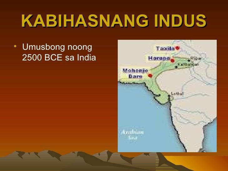 Mga sinaunang kabihasnan sa india Slide 3