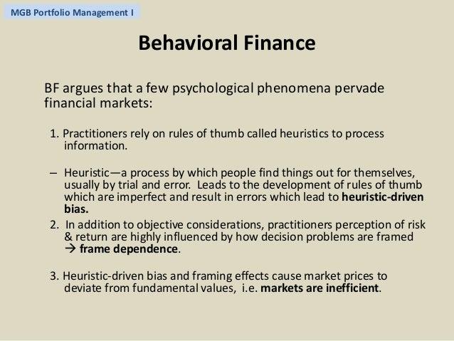 efficient market hypothesis and behavioral finance Behavioral finance in the financial crisis: market efficiency, minsky,  bubbles pose a challenge to the efficient markets hypothesis.