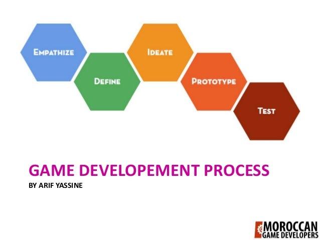 GAME DEVELOPEMENT PROCESSBY ARIF YASSINE