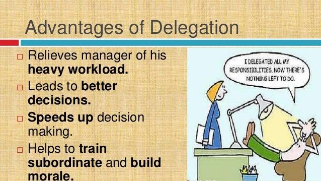 delegation example