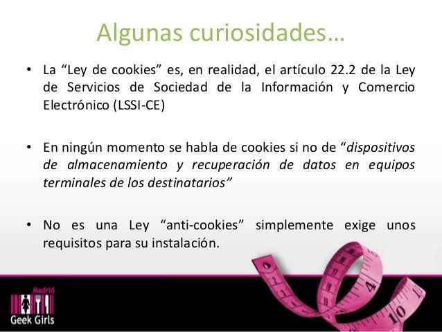 #Mgghub Cookies y privacidad ¿Cumple tu web con la ley? Slide 3