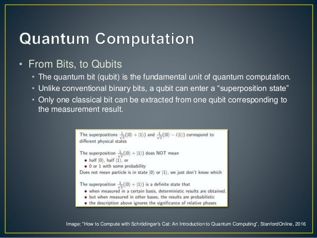 quantum cumputers essay History of computers this chapter is a brief summary of the history of computers it is supplemented by the two pbs documentaries video tapes inventing the future and the paperback computer the chapter highlights some of the advances to look for in the documentaries.