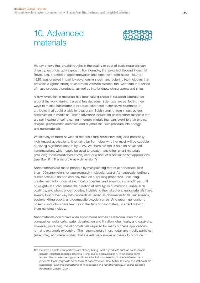 12 Disruptive Technologies