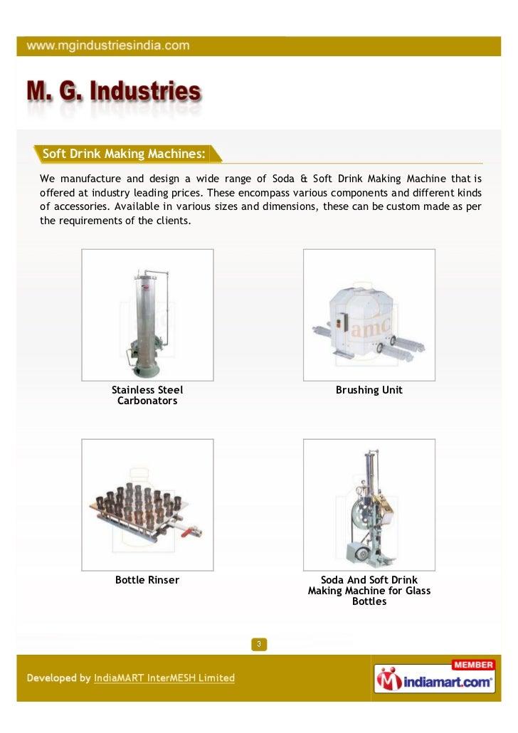 M. G. Industries, Coimbatore, Brushing Unit Slide 3