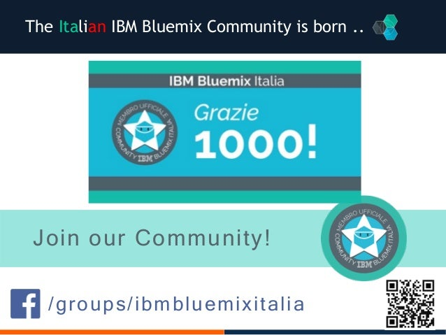 Thanks and meet Pepper at IBM Desk! MILA 25-26 NOVEMBER 2016 Elisabetta Rinaldi – elisabetta.rinaldi@it.ibm.com Rossella D...