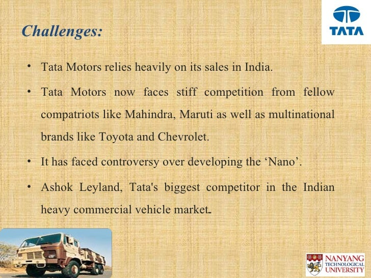 mahindra tata motors fdi strategy Tata motors has charted a product strategy for the future where it will essentially focus on two architectures — alfa and omega — to address all the gaps leaving.