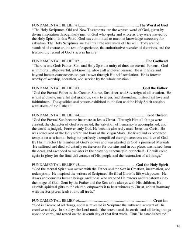 seventh day adventist church manual 2010
