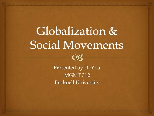 Presented by Di You MGMT 312 Bucknell University