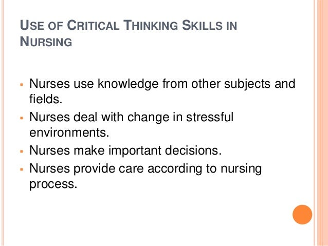 importance of critical thinking in management field