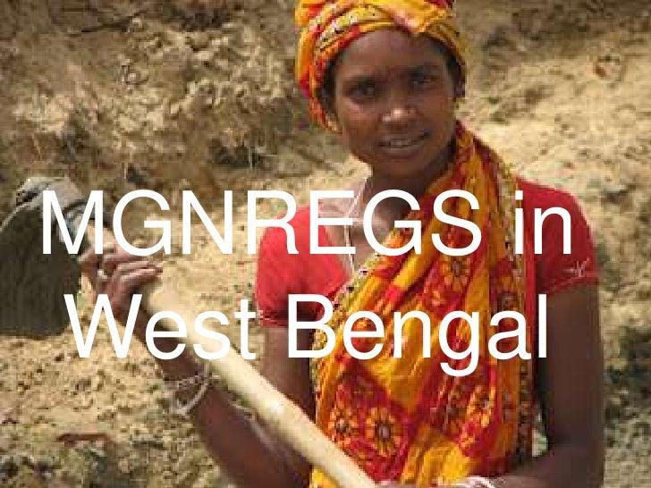 MGNREGS inWest Bengal