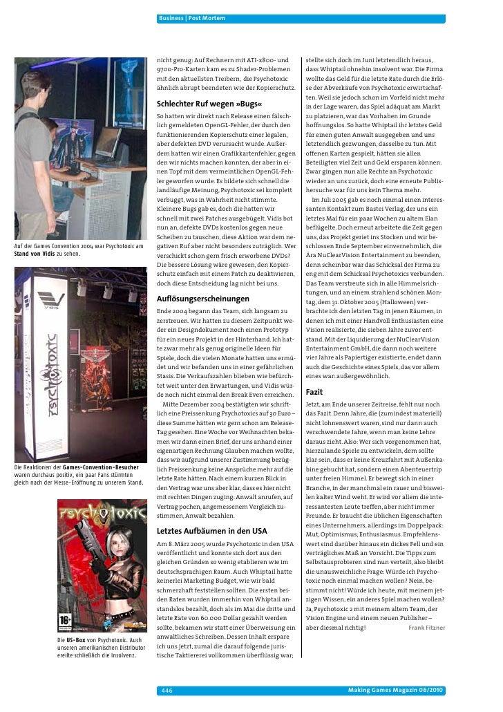 Business | Post Mortem                                                     nicht genug: Auf Rechnern mit ATI-x800- und    ...