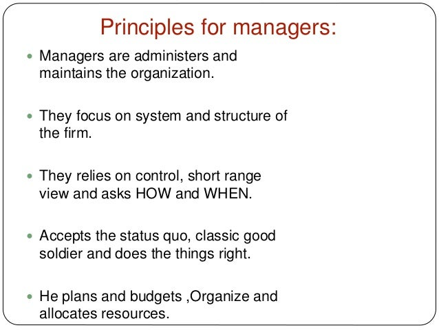 leaders vs managers essay So when it comes to the leaders vs managers debate, where do you land here's a list of 17 traits that separate the two check off which ones match you.