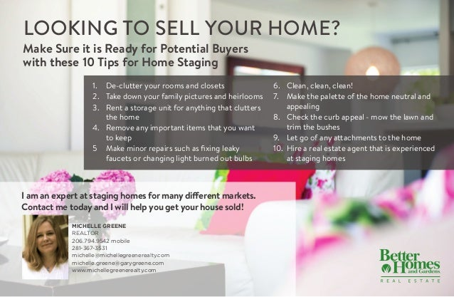 real estate staging articles