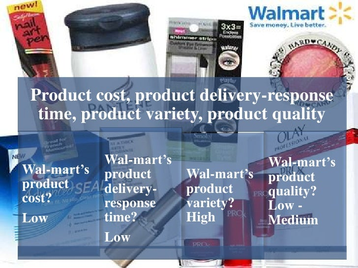 operation management of walmart How rfid technology boosts walmart's  so this study was to scrutinize how rfid technology boosts wal-mart's supply chain management  wal-mart's.