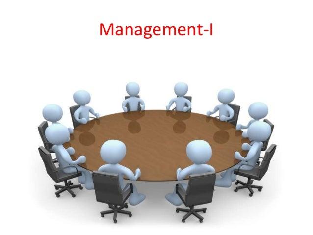 Management-I