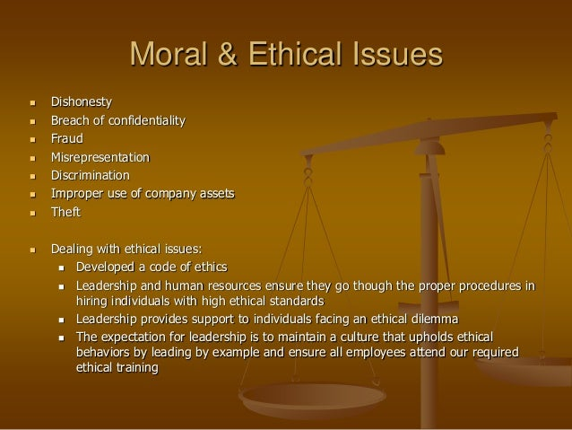 ethical issues when hiring employees Social media engagement is a relatively new territory for both employers and employees  framework for social media use in hiring  issues they raise.