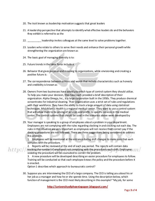 study guide for mgt 230 Mgt 230 final exam 100% correct - a++ guide 1 planning involves which of the following 2 _____ is specifying the goals to be achieved and deciding in advance the appropriate actions needed to achieve those goals.