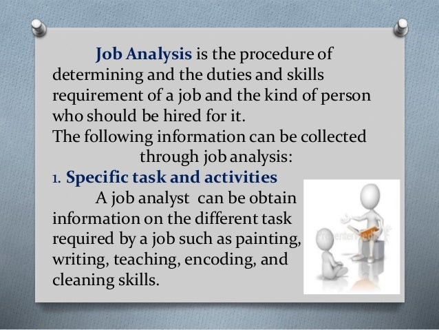 job analysis and selection inter clean Because of the recent merger of interclean  hrm 531 week 2 individual assignment career development plan part i  i—job analysis and selection .