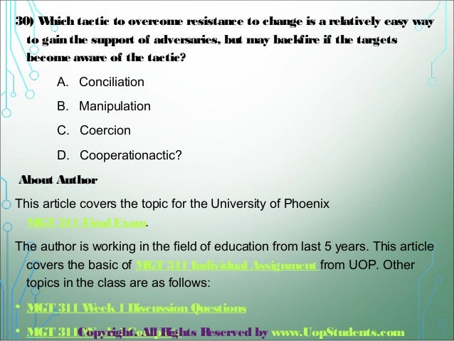 uop mgt 311 Homeworklancecom is a online homework help,complete course material,entire course,essay writing,homework answers,uop,ashford courses,all weeks dqs,hw help.