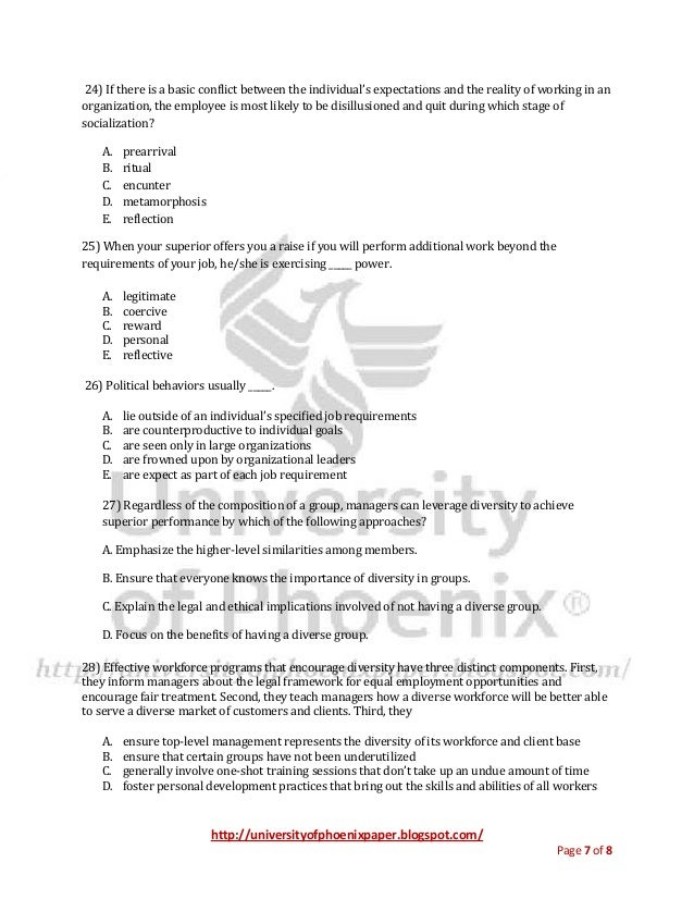 mgt 330 final exam answers