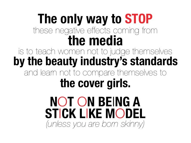 The Media's Effects on Body Image