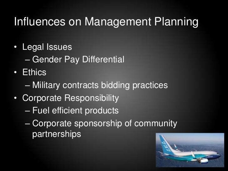 Factors that inluence bps strategic tactical operational and contingency planning