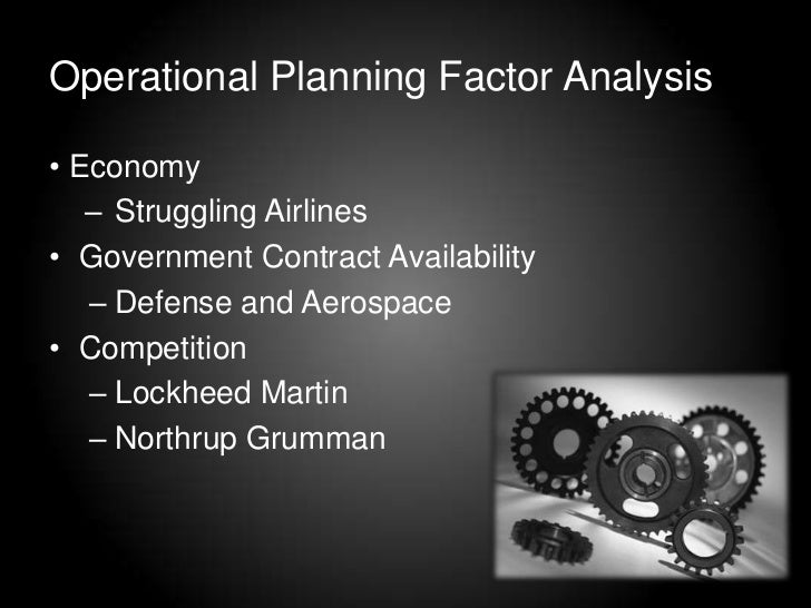 types of planning models