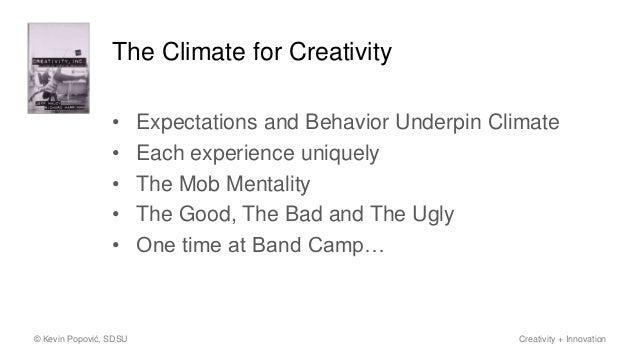 What's Stifling Creativity at Coolburst