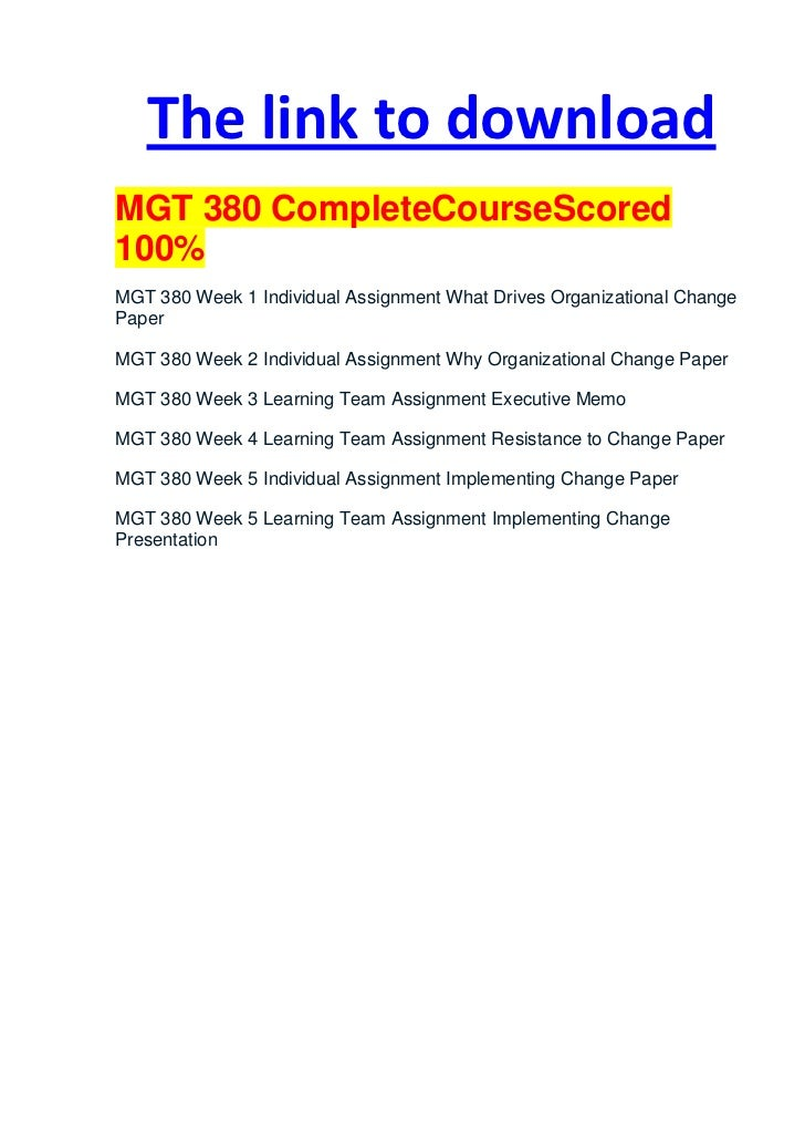 mgt 538 complete class Prerequisite: acc 330 intermediate accounting i with a grade of c or better acc 332 management accounting 3 hours for non-accounting majors only the course includes the practical application of accounting principles to management problems concerning cost behavior and cost flows, profit planning, budgeting and.