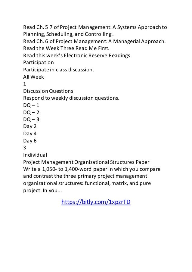 Discussion questions week 2 qnt5611