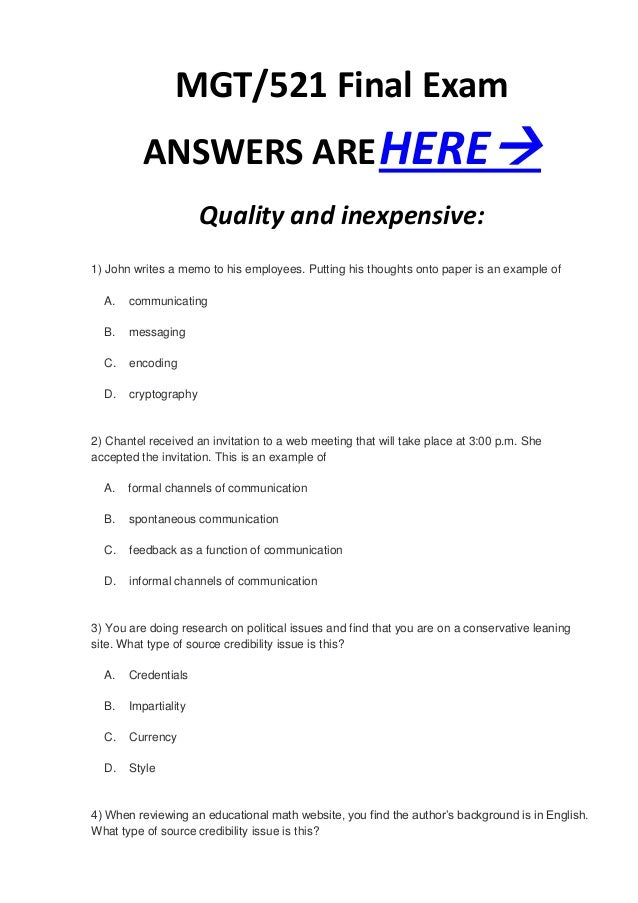 mgt230 final exam with answers 1) planning involves which of the following a analyzing current situations b determining rewards for goals achievement c motivating employees d implementing necessary chan.
