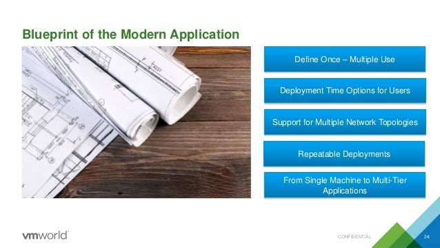 Vmworld 2015 introducing application self service with networking an blueprint of the modern application malvernweather Gallery