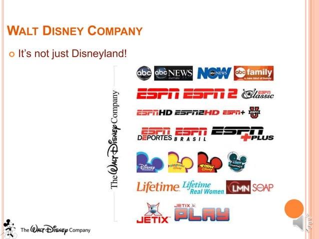 WALT DISNEY COMPANY   It's not just Disneyland!