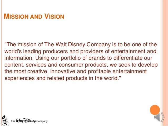 case study of the walt disney Case study on entrepreneurship: walt disney animation is the allusion of movement through the persistence of vision it dates back to as early as 1650 in paleolithic cave painting, where animals were often drawn with multiple sets of overlapping legs.