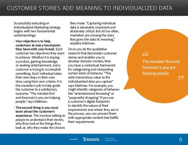 Teradata: Top Marketing Experts Share Tips on Achieving