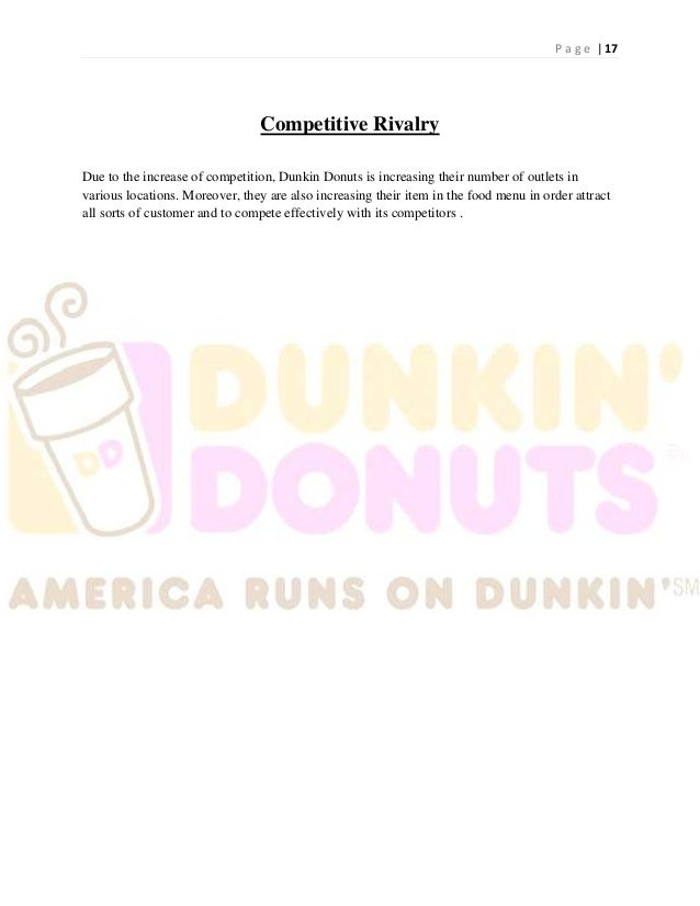 marketing case study on dunkins donut Strategic planning case study- dunkin donuts essay dunkin' donuts is owned by dunkin' brands in this forum i will be discussing how starbucks and dunkin donuts handle each marketing factor.