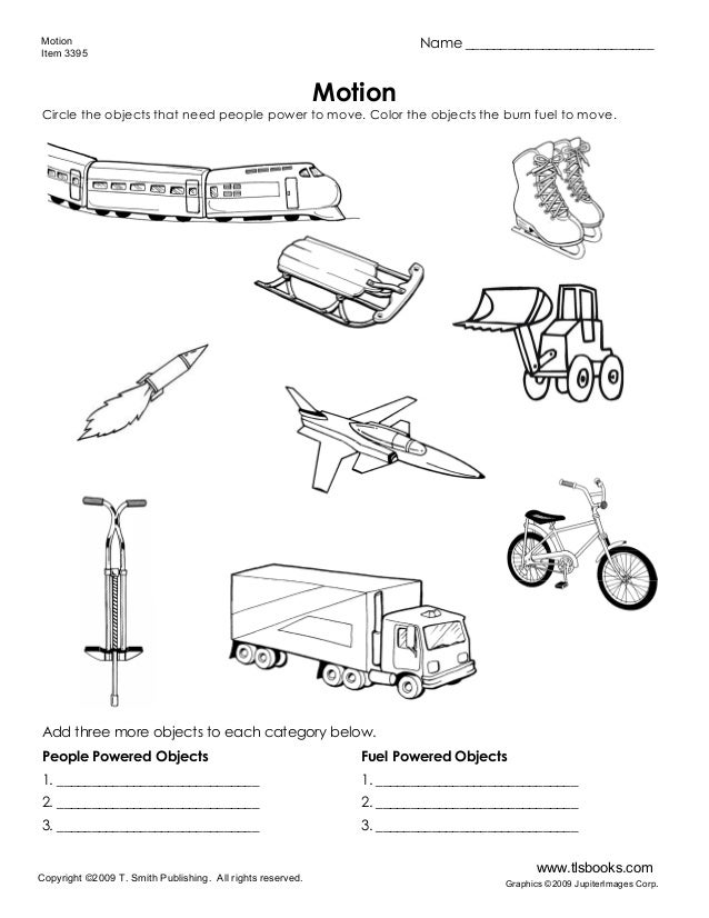 What moves motion item 3395 copyright 2009 t smith publishing all rights reserved www motion worksheet ibookread PDF
