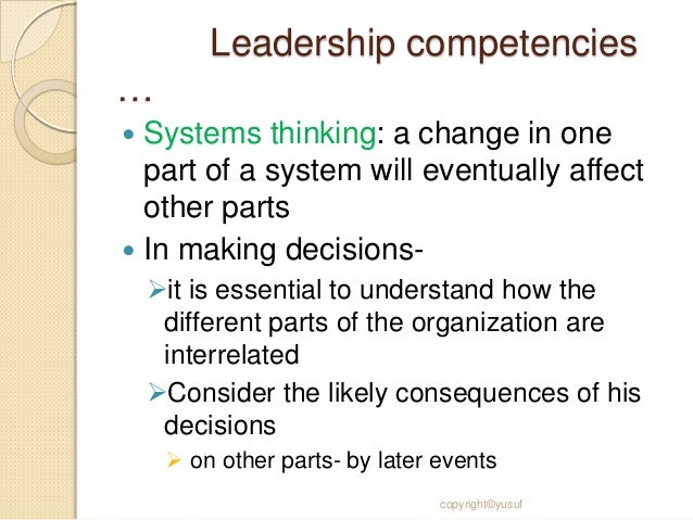 skills and competencies to be a change leader management essay What makes a good leader is the use of effective management skills such as spending 50 percent or more of their time listening carefully great leaders understand that some of the best leadership qualities entail listening to others with undivided attention when was the last time you actually.