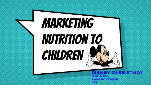 marketing spotlight disney case study Marketing management- bmw case study - duration: 10:42 advanced strategic management - video presentation disney - duration: 6:05.