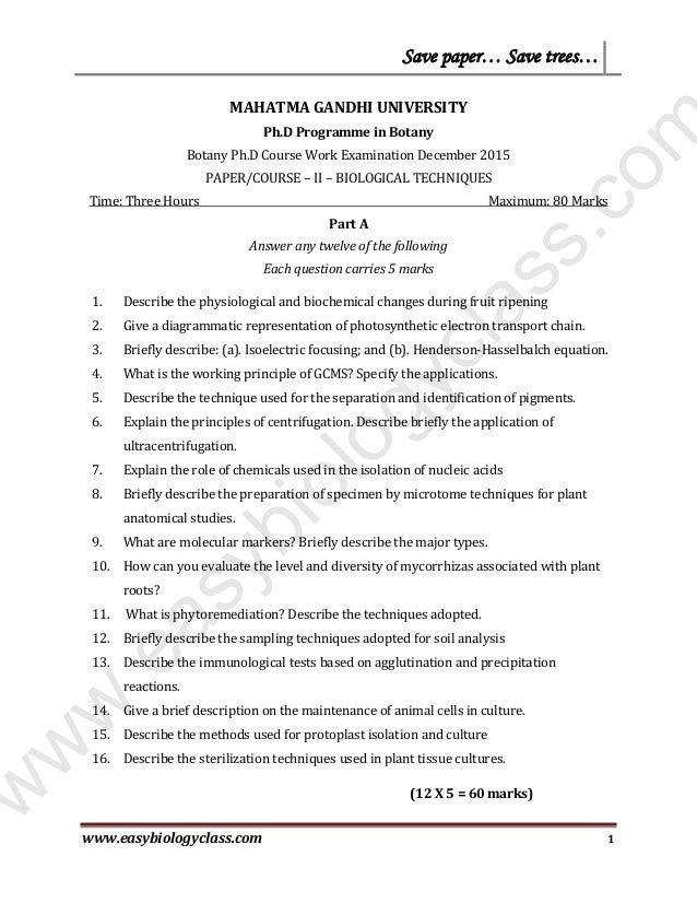 davv coursework for phd form
