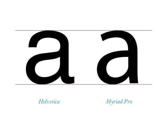 a aHelvetica Myriad Pro